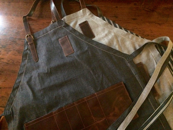 On A Roll: The Denim Apron