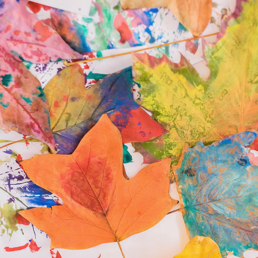 Fall Foliage Crafts for Kids
