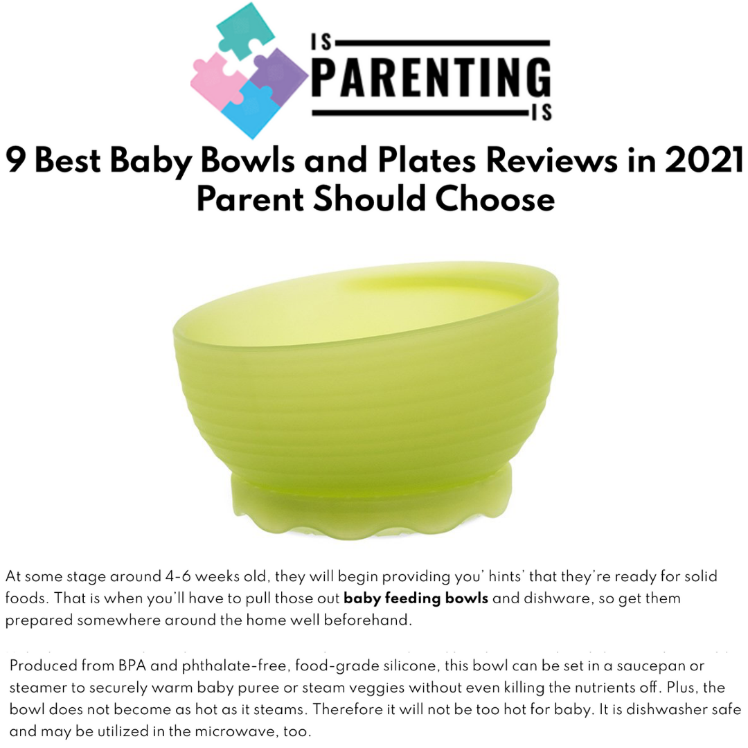 Is Parenting Is : 9 Best Baby Bowls and Plates Reviews in 2021 Parent Should Choose
