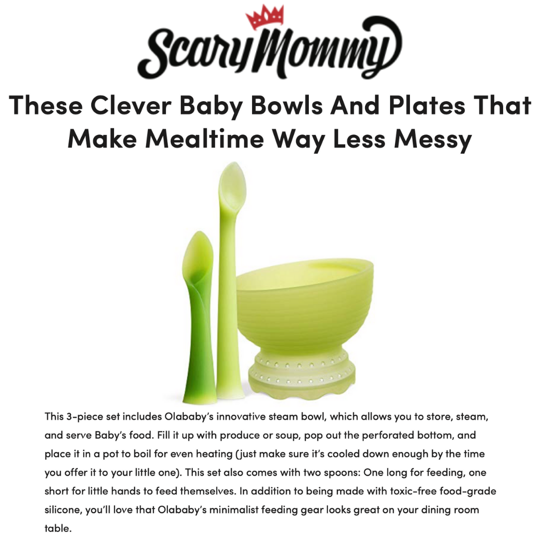These Clever Baby Bowls And Plates That Make Mealtime Way Less Messy