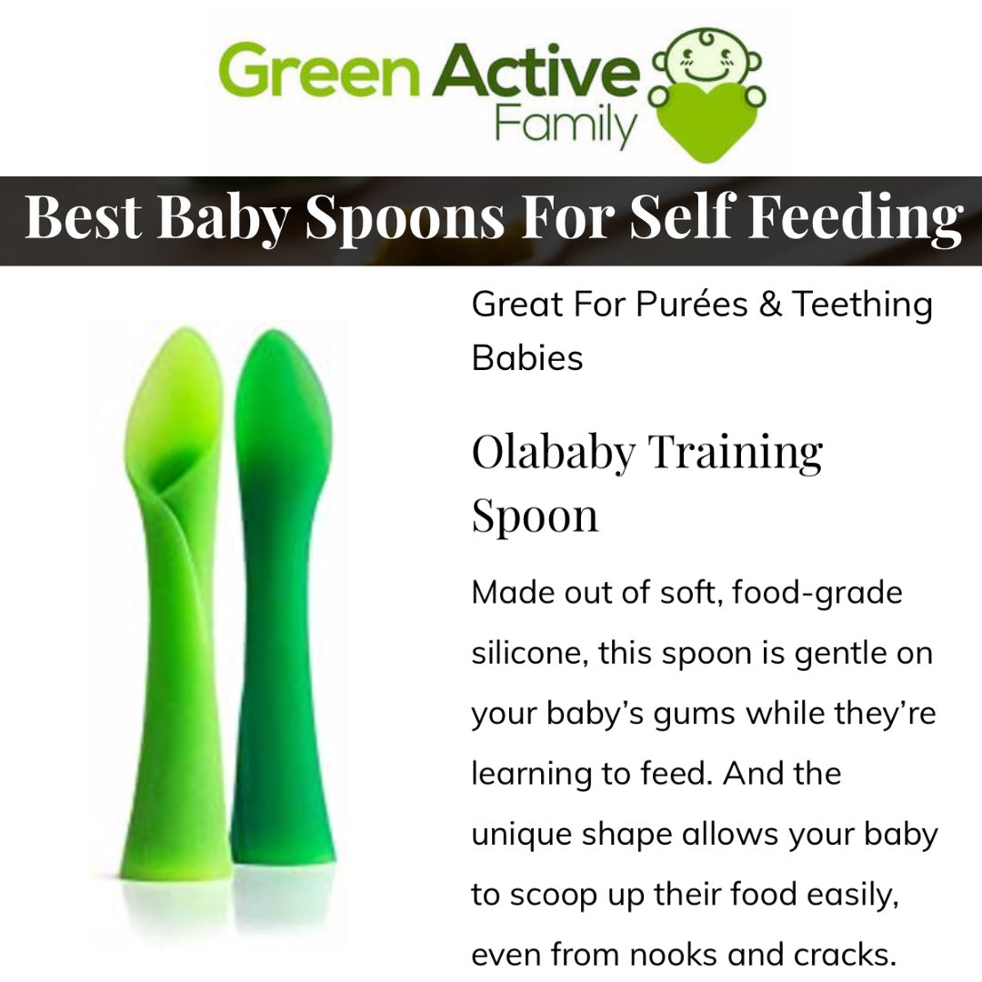 Green Active Family: Best Baby Spoons For Self Feeding