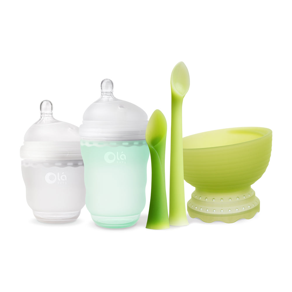 Olababy Introduces First Complete Line of Non-Toxic Silicone Baby Products to Promote Self-Feeding
