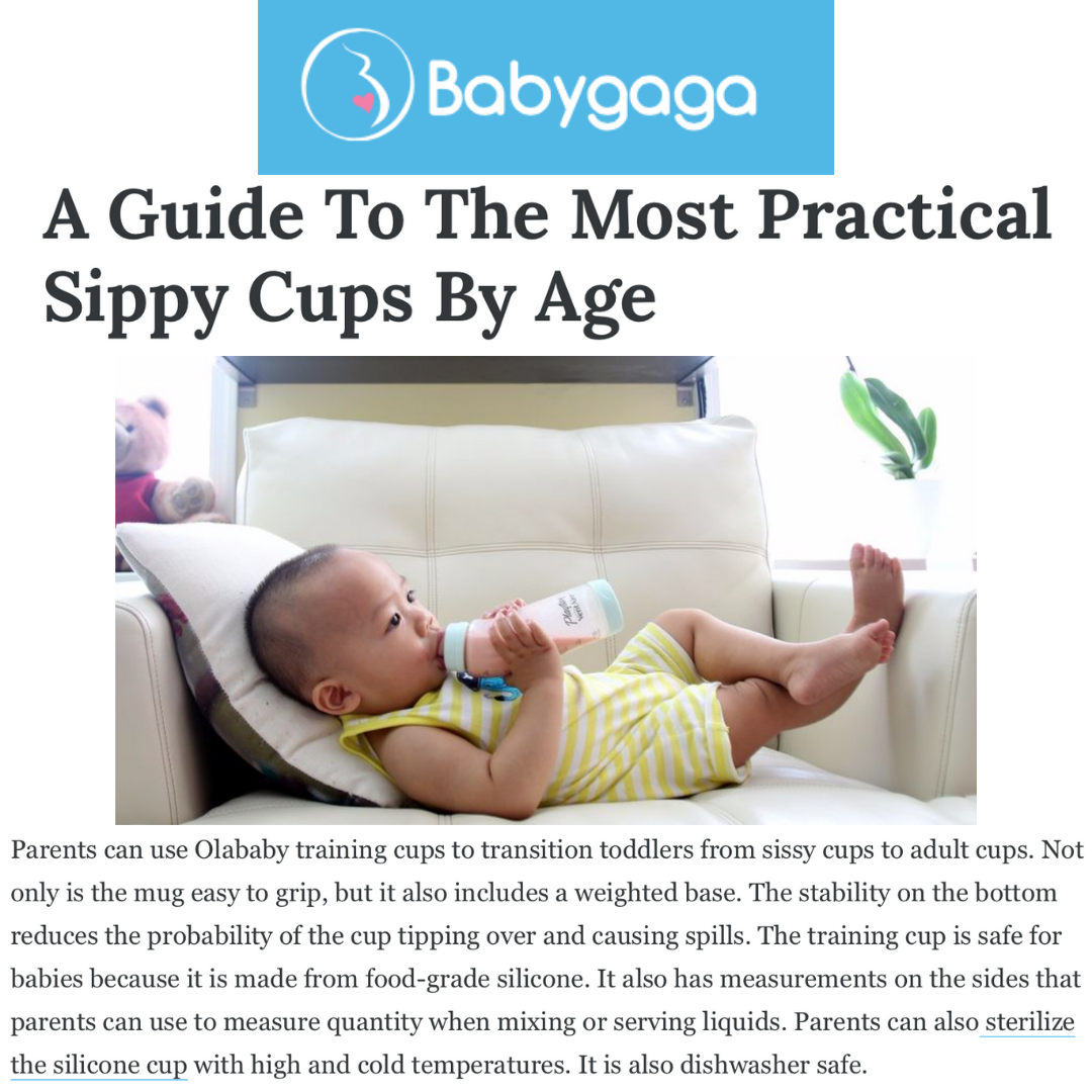 BabyGaga: A Guide To The Most Practical Sippy Cups By Age