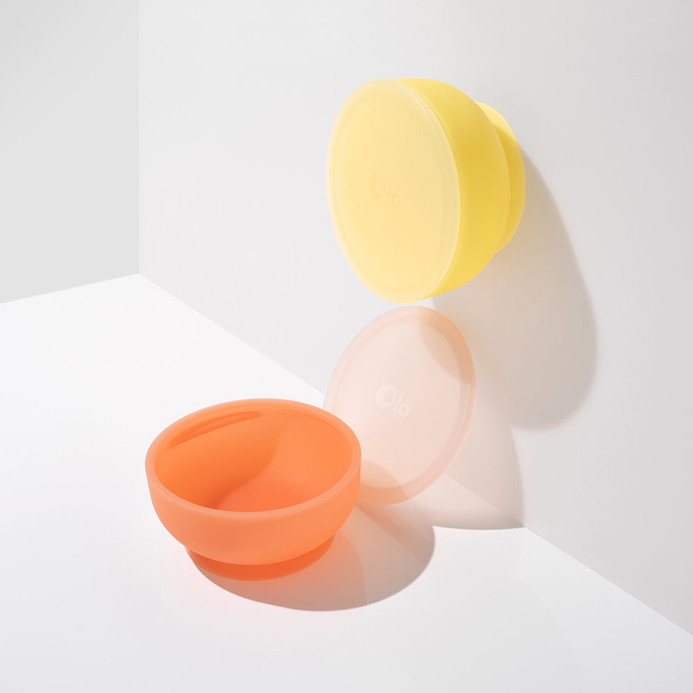 Introducing The Olababy Silicone Bowl With Lid