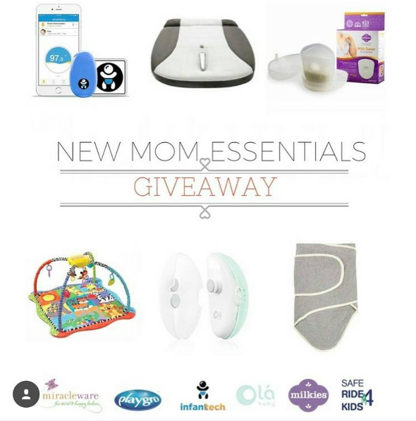 New Mom Essentials Giveaway! Enter Now!