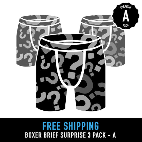 Summer Surprise Boxer Brief 3 Pack - Option A