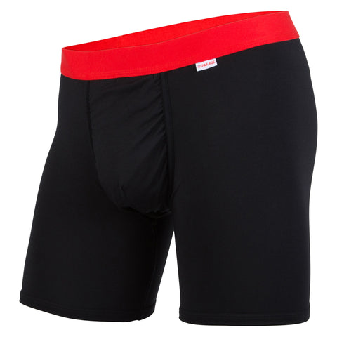 Weekday Boxer Brief: Black/Red