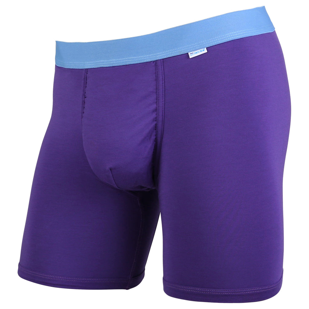 Weekday Boxer Brief: Plum/Turquoise