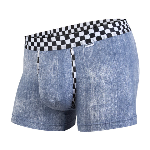 Weekday Trunk: Denim Checkered