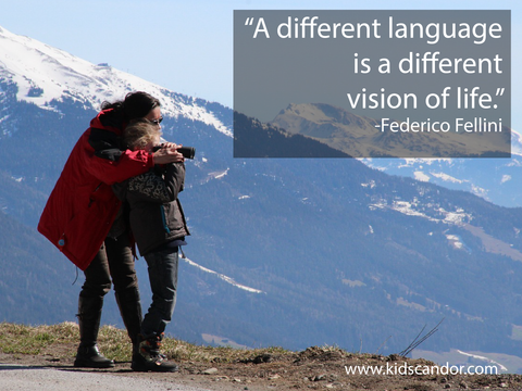 A different language is a different vision of life. —Federico Fellini