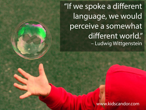 If we spoke a different language, we would perceive a somewhat different world. –	Ludwig Wittgenstein