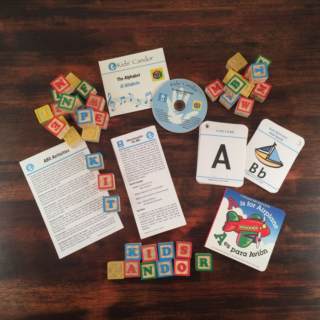 Toddlers Bilingual Education Subscription Kit