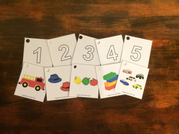 Kids' Candor Numbers 1-100 Flashcards (Spanish and English)