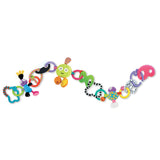 zolo kushies linkos baby toy, crib toy, teether