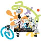 zolo blanko black and white creative building set