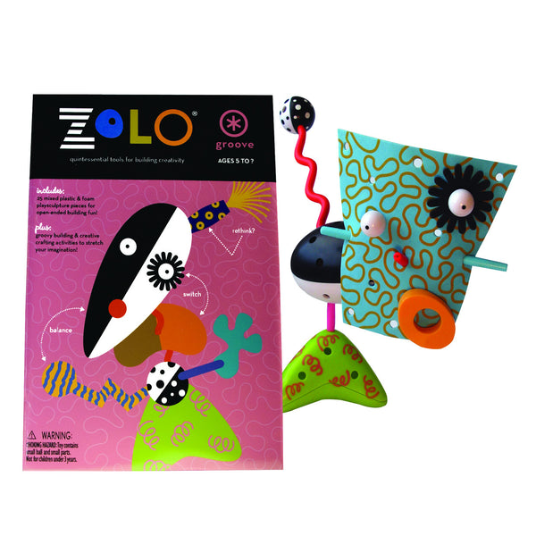 zolo creativity set: groove artistic creative gender nutral building toy