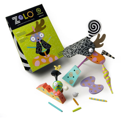 zolo creativity set: chance artistic creative gender nutral building toy