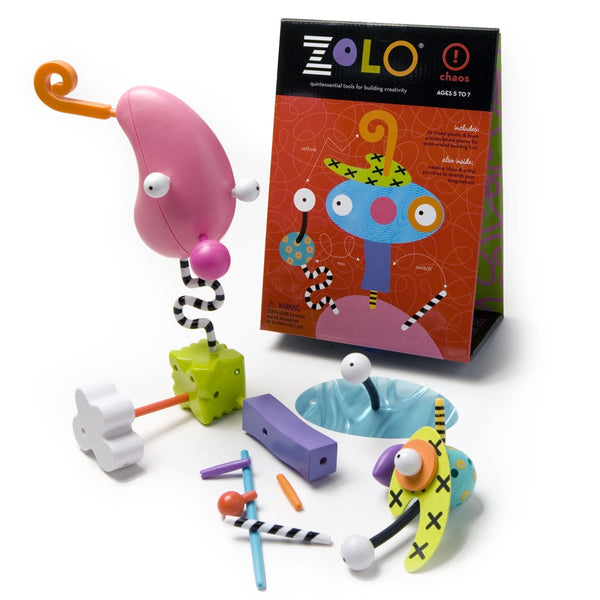 zolo creativity set: chaos artistic creative gender nutral building toy