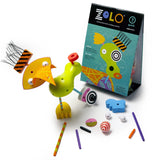 zolo creativity set: quirk artistic creative gender nutral building toy