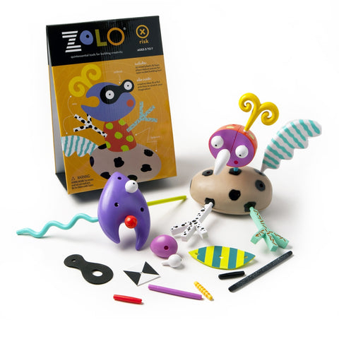 zolo creativity set: risk artistic creative gender nutral building toy