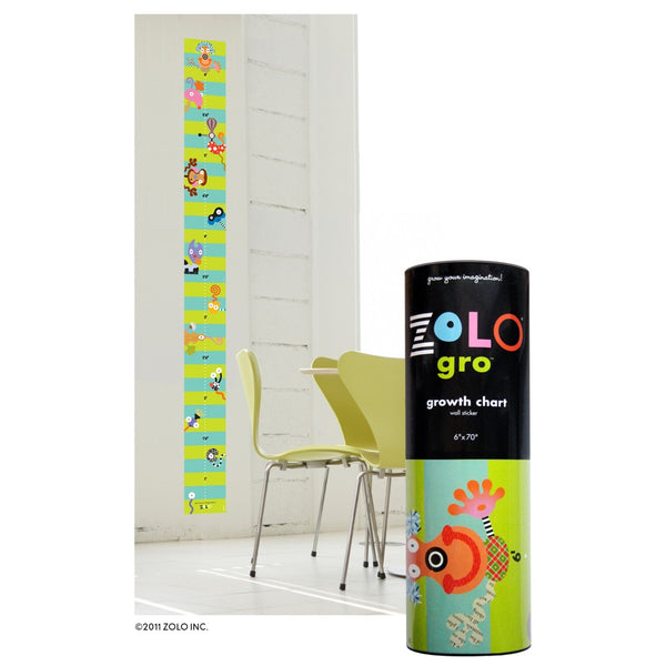zolo gro creative grow chart, growth chart