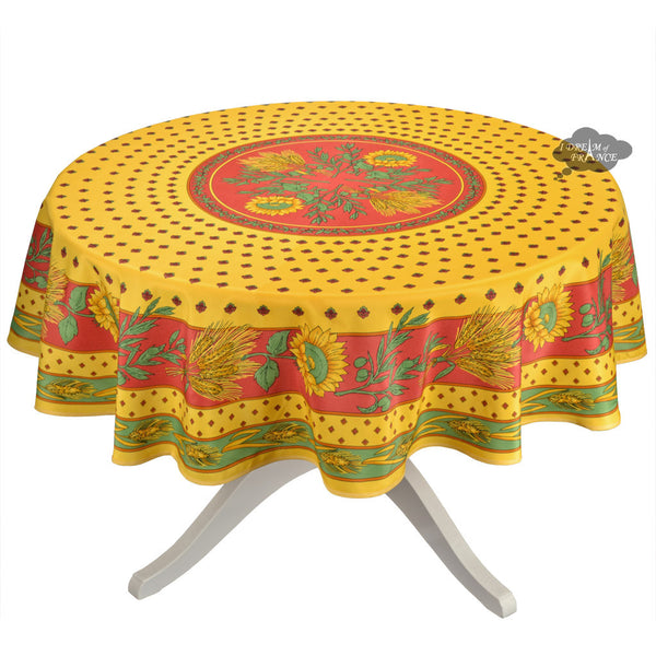 New Tournesol tablecloth now in stock!