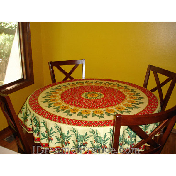 Vent du Sud Valensole Tablecloth, M. Residence, Seattle, WA