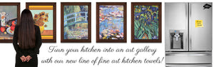 Turn your kitchen into an art gallery!