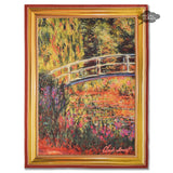 Monet Bridge over a Pond of Water Lillies