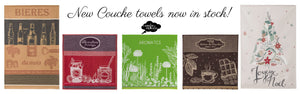 New Coucke towels are now in stock.