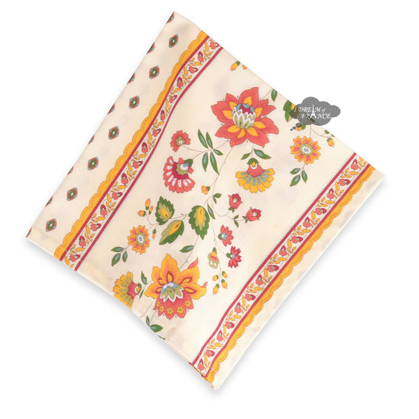 Fayence Cream French Cotton Napkin by Le Cluny