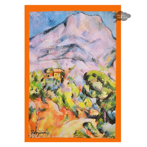 Cezanne Sainte Victoire French Kitchen Towel by L'Ensoleillade