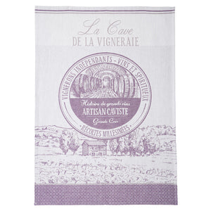 Coucke Caviste French Jacquard Dish Towel