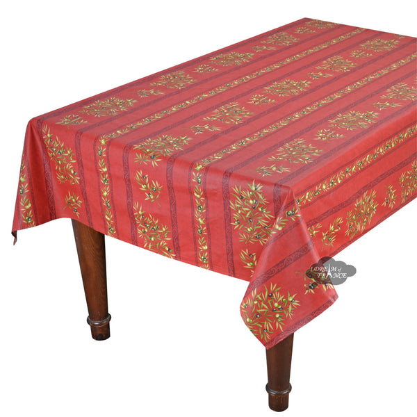 French table linens cotton polyester and acrylic coated for Table 60x120
