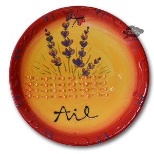Garlic Grinding Plate - Lavender Red