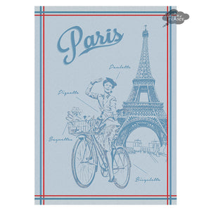 Paulette French Jacquard Kitchen Towel by Autrefois