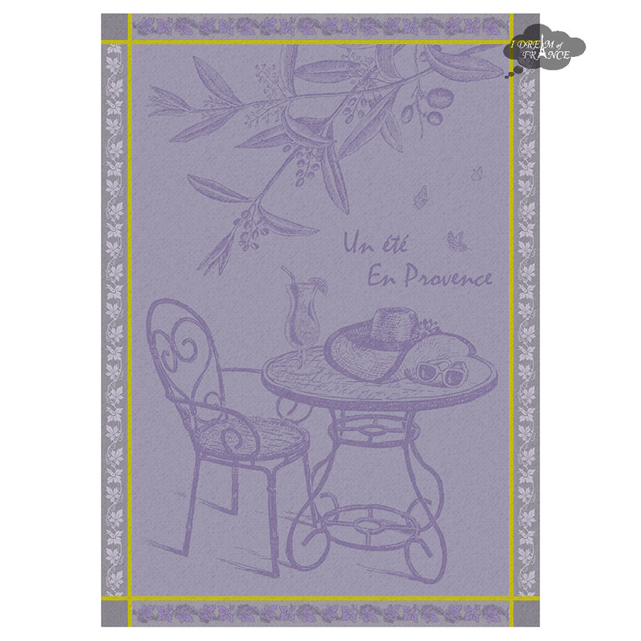 Provence Summer French Jacquard Kitchen Towel by Autrefois