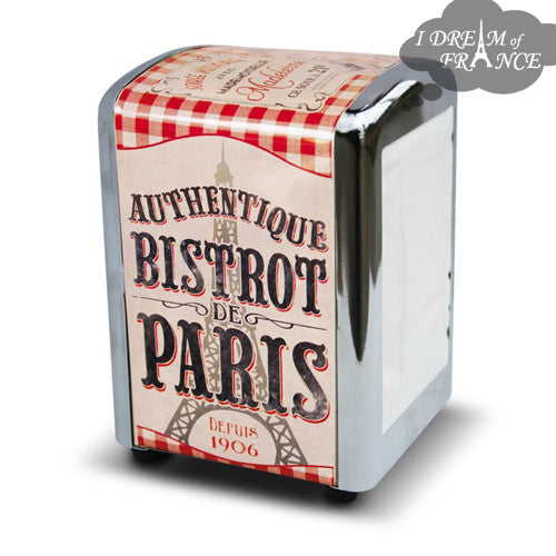 Authentique Bistrot de Paris Tabletop Napkin Dispenser