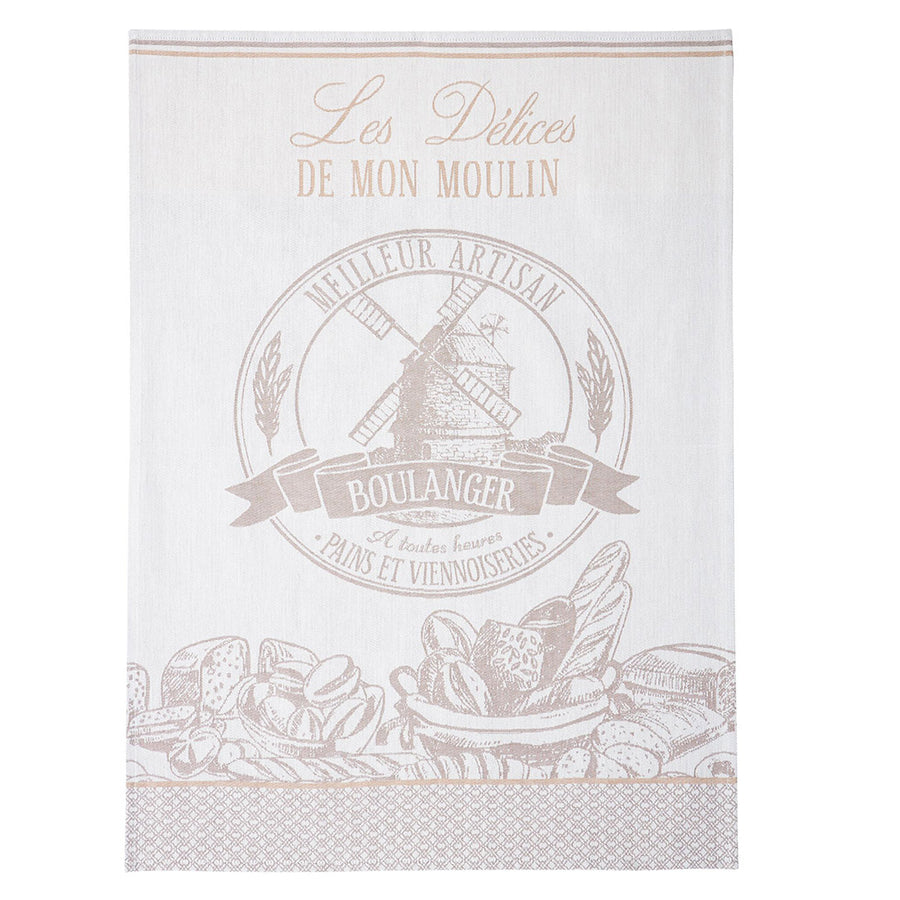 Coucke Le Boulanger (The Baker)  French Jacquard Dish Towel