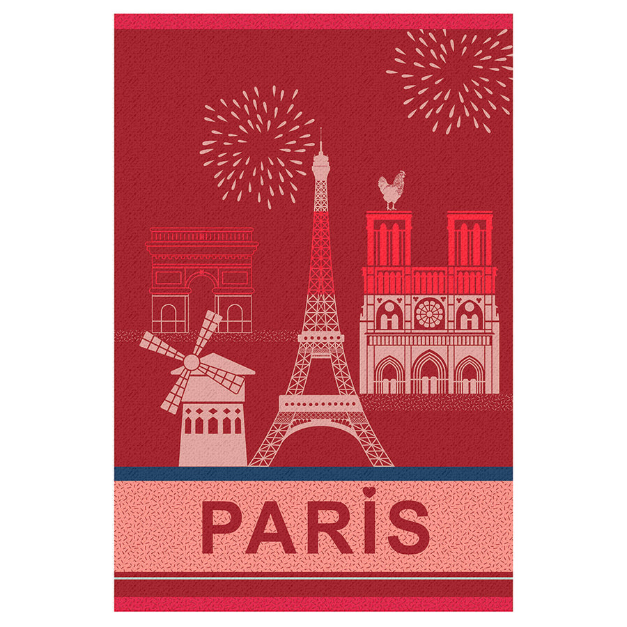 Paris City French Jacquard Dish Towel by Coucke