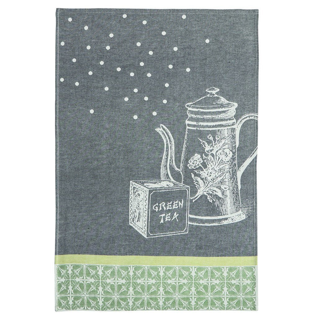Coucke Théière (Tea Pot) French Jacquard Dish Towel