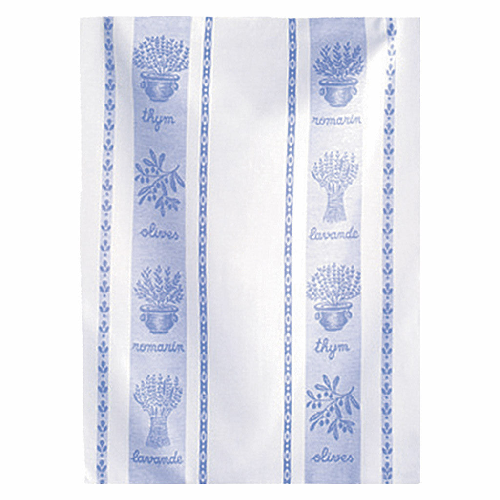 Coucke St Remy Lavande French Jacquard Dish Towel