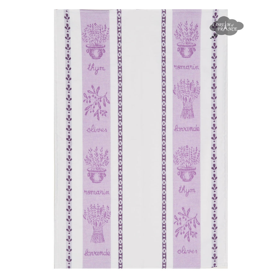 Coucke St Remy Lilas (Lilac) French Dish Towel