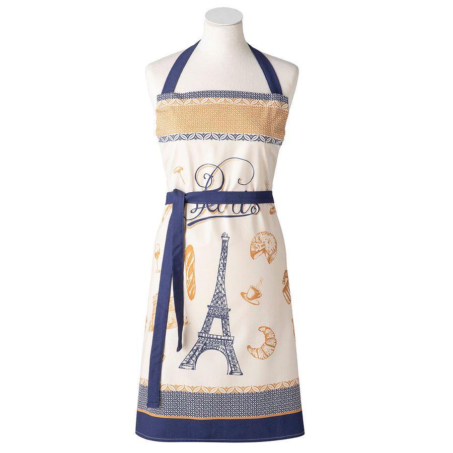 Lutece French Cotton Kitchen Apron by Coucke