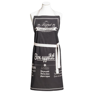 Bon Appetit Cotton Kitchen Apron by Coucke
