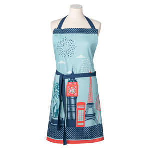 Cities Cotton Kitchen Apron by Coucke