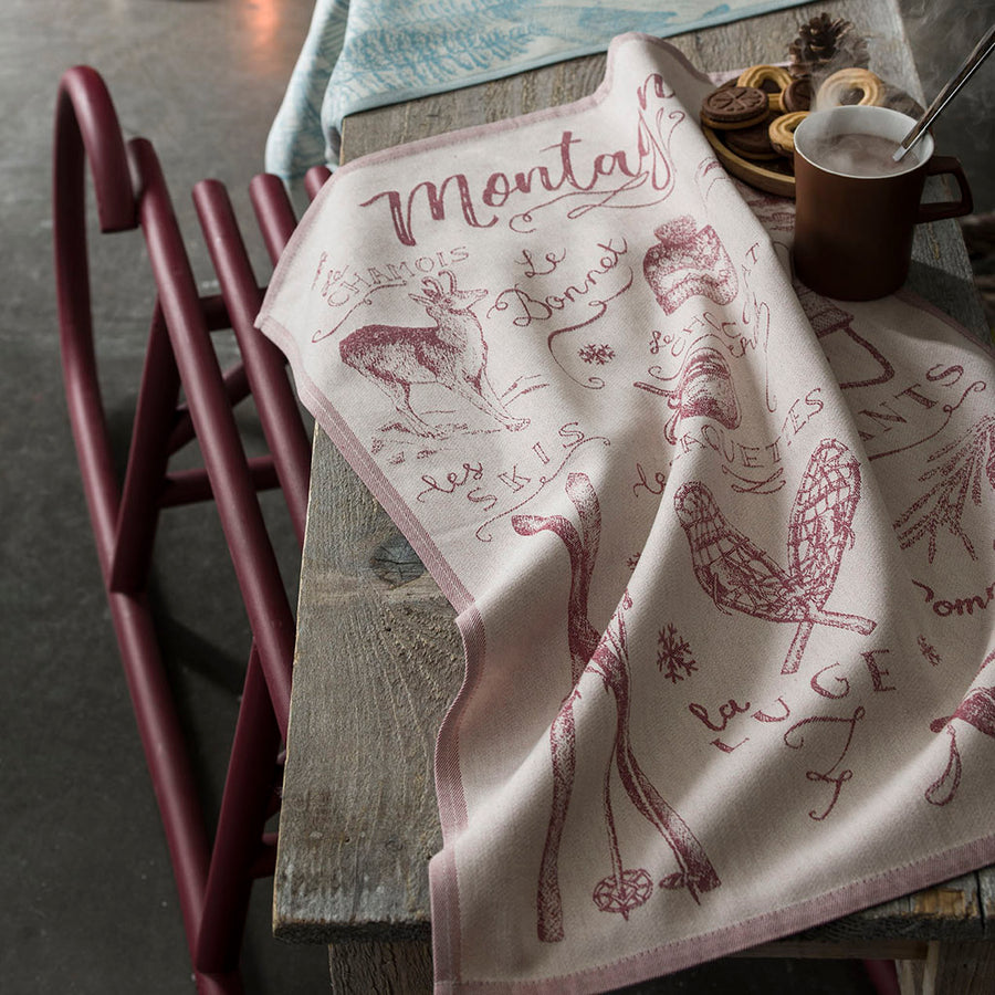 French Tea Towels Kitchen Towels Jacquard Towels Tagged French