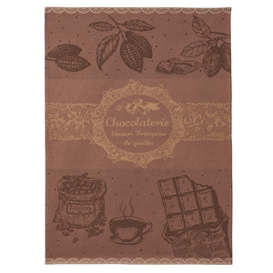 Coucke Chocolaterie (Chocolate Maker) French Jacquard Dish Towel