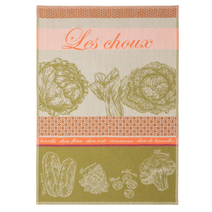 Cabbage French Jacquard Dish Towel by Coucke