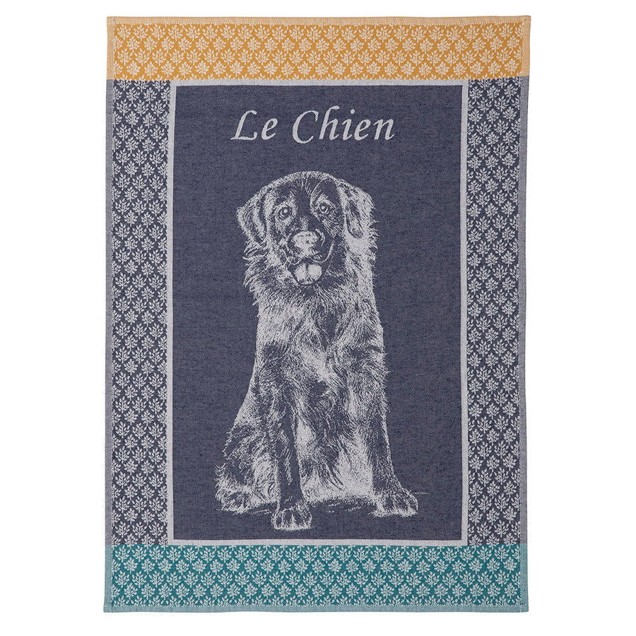 Le Chien French Jacquard Dish Towel by Coucke